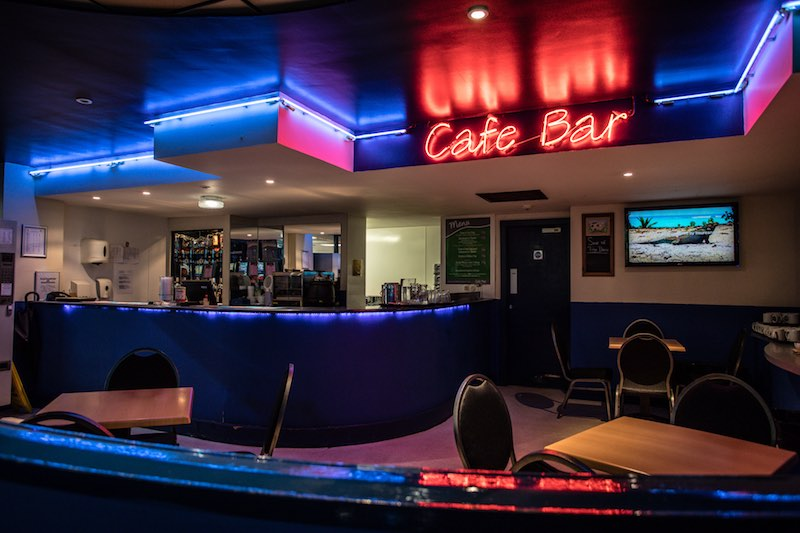 Cafe Bar at Bingo Isle of Man