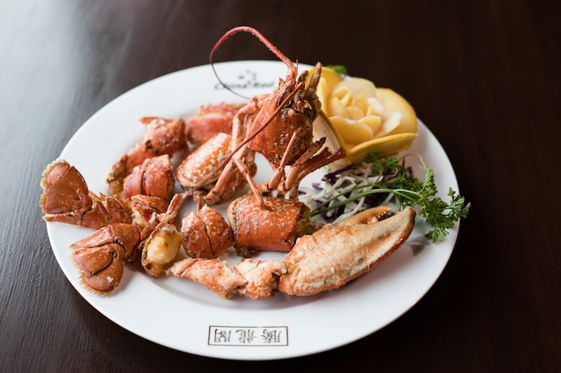 Majestic Restaurant Fresh Manx Lobster