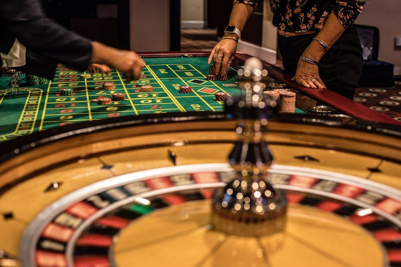 Roulette Tables at the Palace Casino