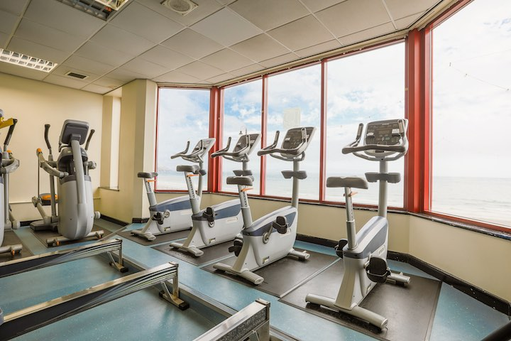 Get fit at the Palace Health Club