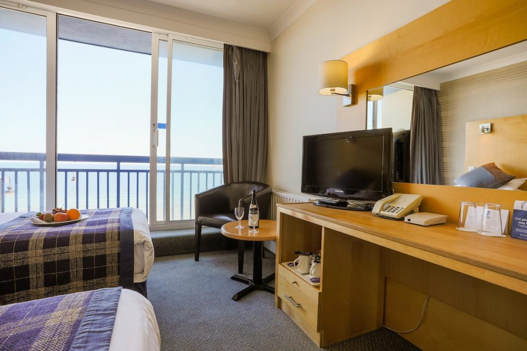 Sea View Twin Room | Best Western Hotel Isle of Man