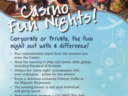 Fun Nights at the Palace Hotel Casino!